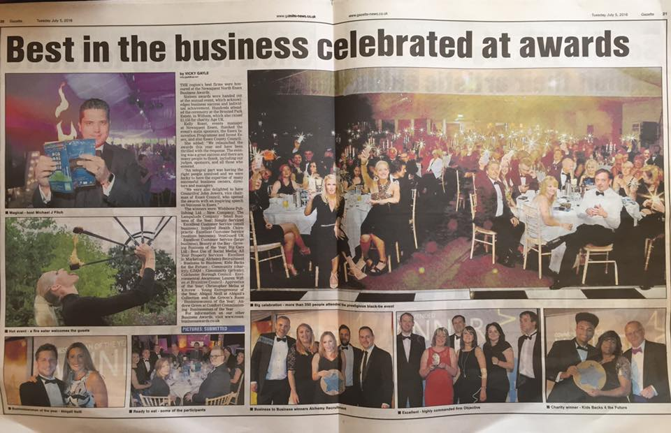 Essex Business Awards 2016